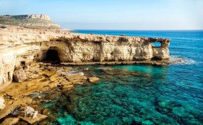 Cuadro Panorama de cuevas de mar