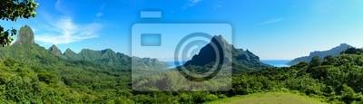Panorama tropical de Moorea