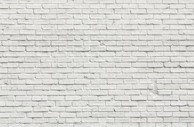 Cuadro Pared de ladrillo blanco