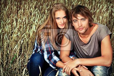 pareja de trigo
