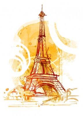 Cuadro París Verano