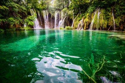 Cuadro Parque nacional jezera Croacia