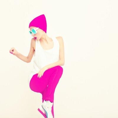 Cuadro Party girl Fashion