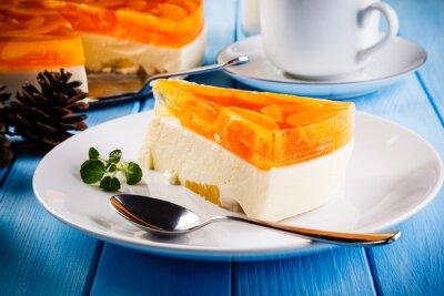 Cuadro Pastel de queso de frutas
