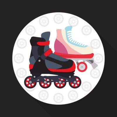 Cuadro Patinaje sobre ruedas