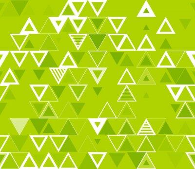 Cuadro Patrón geométrico inconsútil con los triángulos.