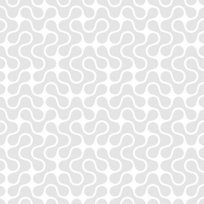 Cuadro Patrón transparente geométrica. Ilustración vectorial