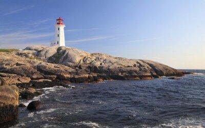 Cuadro Peggy Cove Faro, Nueva Escocia, Canadá