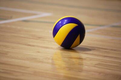 Cuadro Pelota de voleibol en el suelo