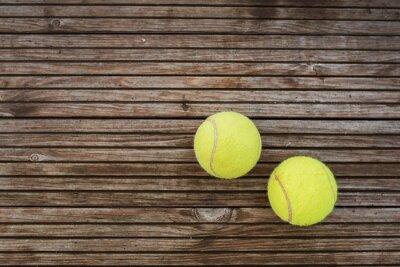Cuadro Pelotas de tenis