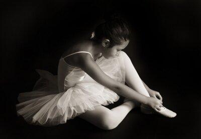 Cuadro Pequeña bailarina de ballet