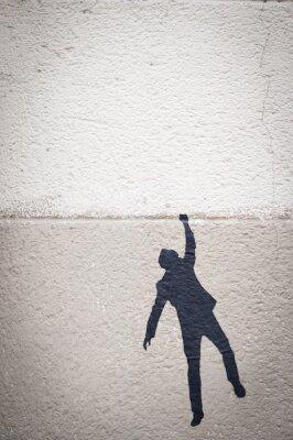 Cuadro Personnage Graffiti