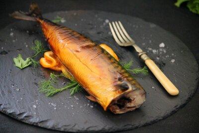 Cuadro pescado aceitoso