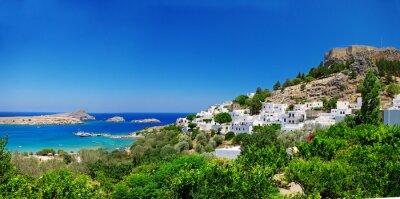 Pictorial isla griega - Rodas (Lindos)