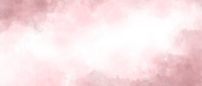 Cuadro Pink color abstract watercolor background