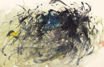 Cuadro Pintura abstracta de fondo o de Arte