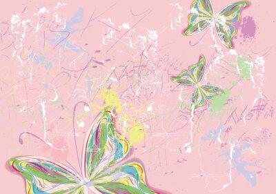 Cuadro Pinturas mariposa