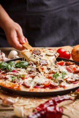 Cuadro Pizza casera