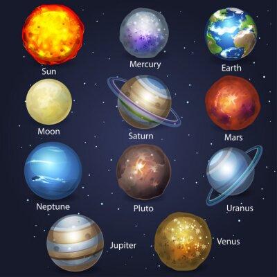 Cuadro Planet conjunto 2