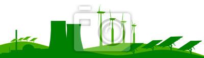 Plantas de energía Skyline