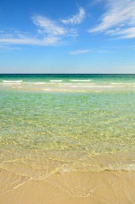 Cuadro Playa del paraíso con agua clara