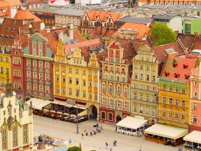 Plaza de la ciudad vieja, Varsovia, Polonia