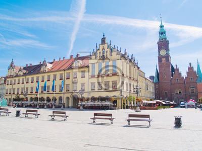 plaza maket, Wroclaw, Polonia
