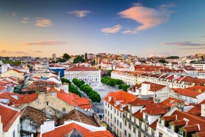 Cuadro Plaza Rossio de Lisboa