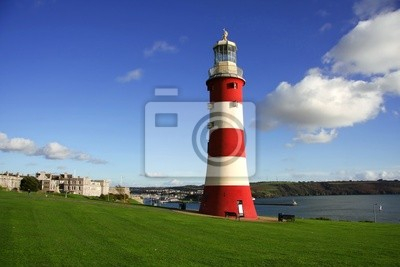 Cuadro Plymouth, Faro, Inglaterra