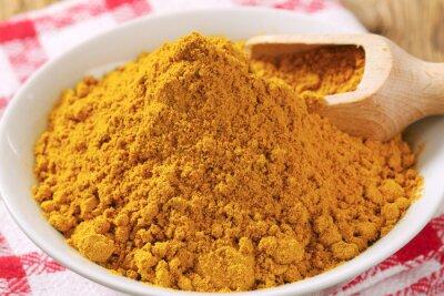 Cuadro polvo de curry