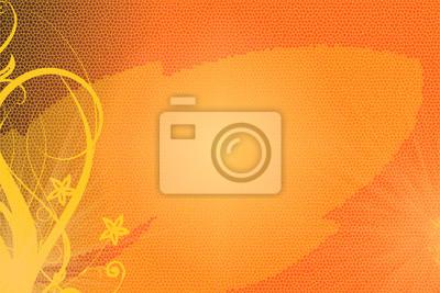 Cuadro Pomarańczowy