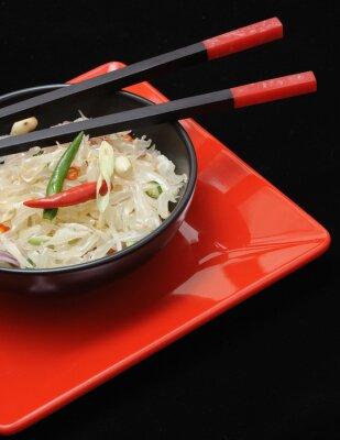 Cuadro Pomelo fresco de la ensalada thai