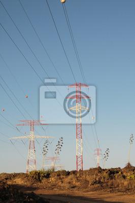 Poste de la electricidad