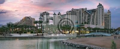 Promenade y resort hoteles en Eilat, Israel