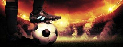 Cuadro Protesta Fútbol