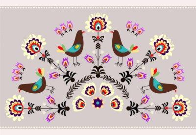 Cuadro Ptakami z Wzor