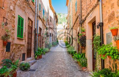 Pueblo de montaña Valldemossa Mallorca España