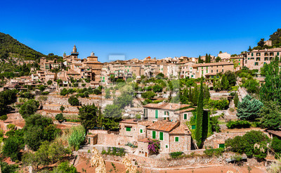 Pueblo viejo de España en Mallorca Valldemossa