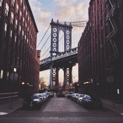 Cuadro Puente de Manhattan