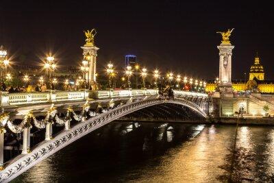 Cuadro Puente del Alexandre III en París