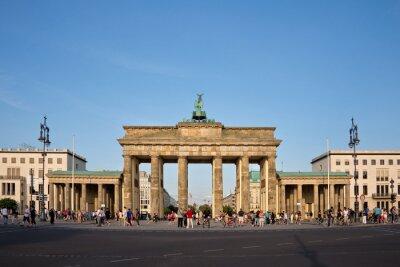 Cuadro Puerta de Brandenburgo, Berlín, Alemania