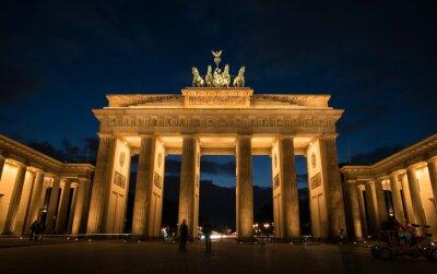 Cuadro Puerta de Brandenburgo de Berlín Alemania