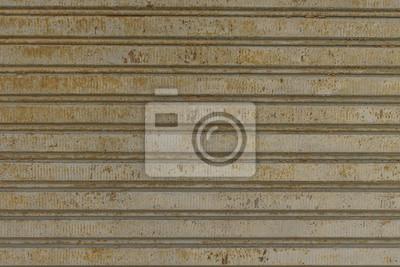 puerta de garaje oxidado vista de primer plano