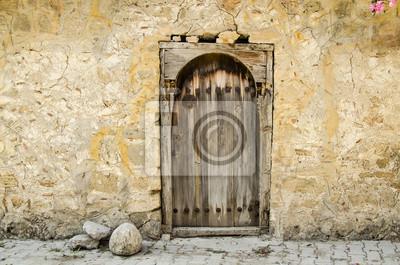 Cuadro Puerta de madera