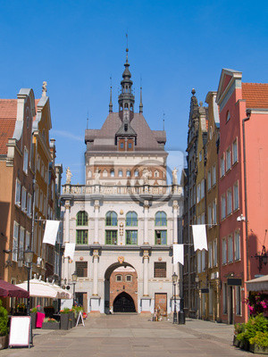 puerta de oro, Gdansk, Polonia