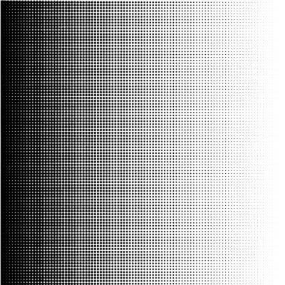 Cuadro Puntos de semitono gradiente en formato vectorial
