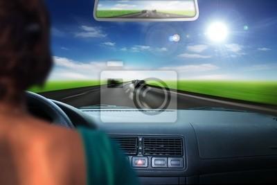 Rápido en coche