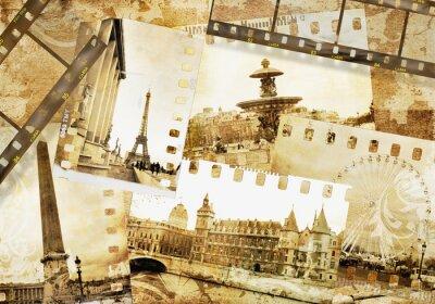 Recuerdos parisinos - viejo álbum de fotos