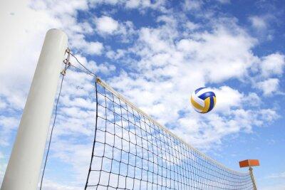 Cuadro red de voleibol