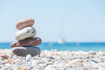 Cuadro Relajarse en la playa